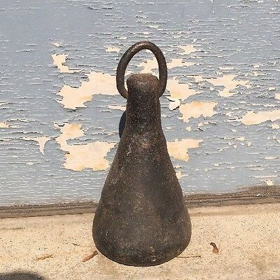 Vintage Iron Carriage Hitching Post Tether Weight for Sheep Horse Dog Door Stop