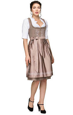 27db29489e0d3 Stockerpoint Mini Dirndl Theresa 25 5 8in 2 Parts Taupe