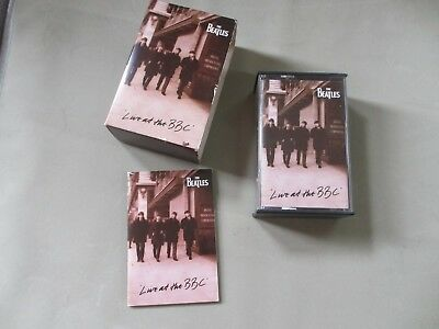Music Casettes.Beatles Live At The BBC. Two Tapes With A Booklet ( With Words )