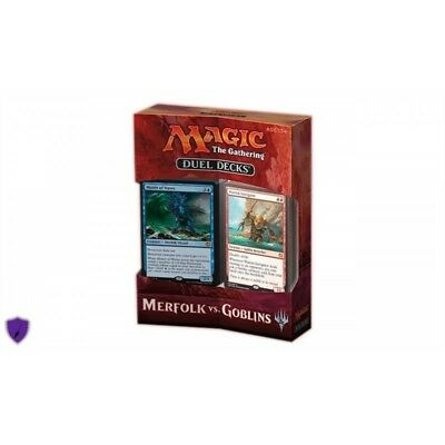 Magic the Gathering MTG Merfolk vs. Goblins Duel Deck - Lingua:ENG