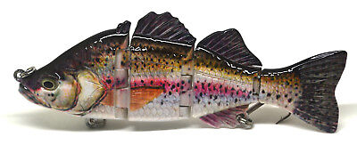 "6"" Bass Pike Fishing Swimbait Lure Life-like Bluegill NEW"