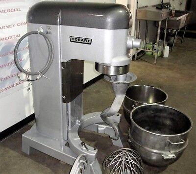 HOBART 80QT MIXER L800 / BOWL, Hook, Whip and PADDLE ATTACHMENT