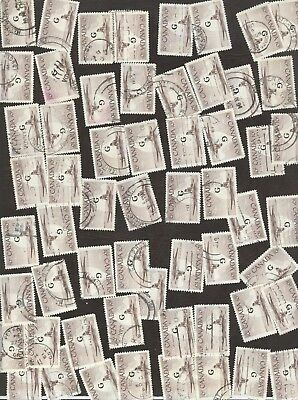 Stamps Canada # 039, 50¢, 1953, Lot of 100 used stamps.