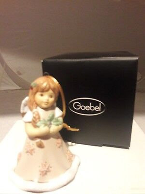 Goebel, 2017 Annual Christmas Angel Bell, Brand New, Mint & Boxed, Free Usps