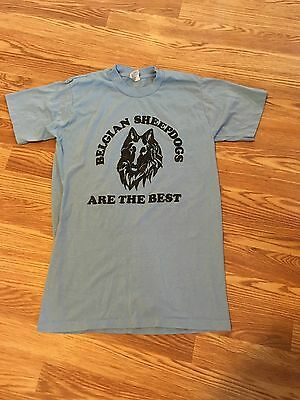 vintage Belgian Sheepdog T-shirt youth medium