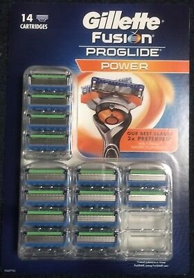 ***NEW*** Gillette Fusion Proglide Power Blades