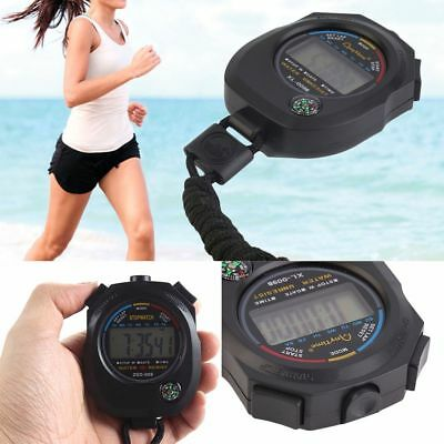 Meter Digital Counter LCD Stopwatch Alarm Stopwatch Sports Waterproof Outdoor