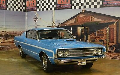 1969 Ford Torino GT FORD TORINO GT RICHARD PETTY EDITION 1 OF 5 EVER MADE WITH A 428 CJ, NASCAR FANS