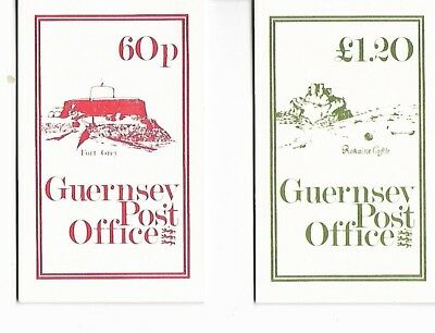 GUERNSEY £1.20 AND 60p BOOKLETS