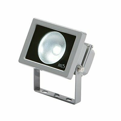 FLE10G Adjustable Low Energy LED Security FloodLight Grey Aluminium, Weathersafe
