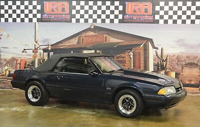 1987 Ford Mustang LX FORD MUSTANG CONVERTIBLE FOX BODY LX 347 STROKER FRAME OFF RESTORED