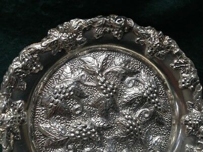 Vintage Sheffield Silver Plated Wine Coasters X 6 - E.H. Parkin