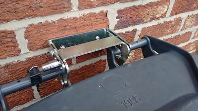 Wheelie Bin Lock  Prevents theft, unauthorised use and wind