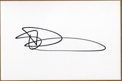 Elliot Daly Signed England/Wasps Rugby Union White Card.  British Lions.