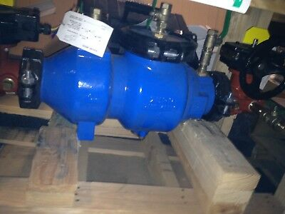 """Zurn Wilkins 350 Double Check Backflow Preventer 2-1/2"""" 212-350ABG Butterfly NEW"""