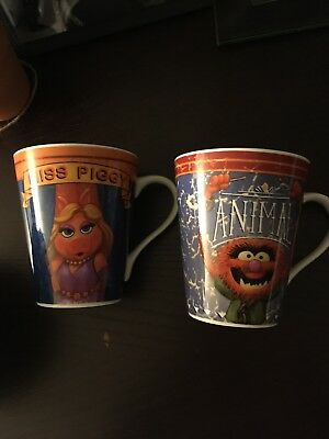 Update: Miss Piggy and ANIMAL Mug The Muppets Disney LOT OF 2