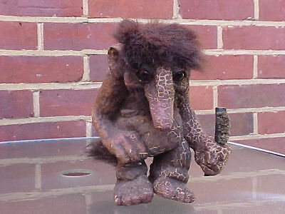 Vintage Nyform Troll - 9 Inches Tall