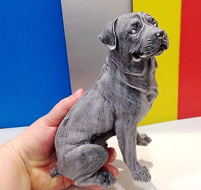 Rottweiler large figurine marble chips Dog realistic Souvenir Russia