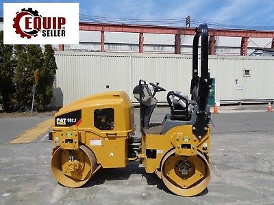 UNUSED New Caterpillar CB2.7 Double Drum Vibrating Roller Compactor - Only 2 Hrs