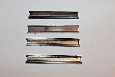 4 8 round MAUSER BROOM HANDLE C96 STRIPPER CLIPS Light rust YB1