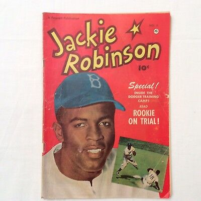 JACKIE ROBINSON # 5   1951  1st African American in Major Leagues! VERY RARE