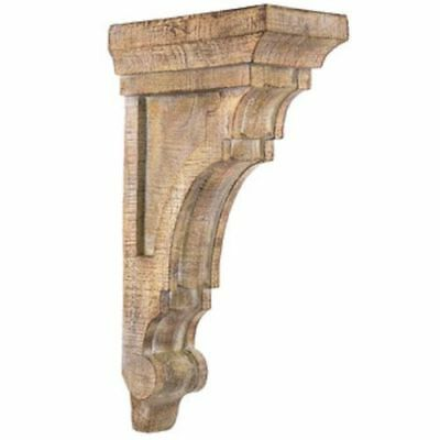 LARGE RUSTIC CORBELS / BRACKETS Tuscan Style X 2 Corbels -{USA Free Shipping!}