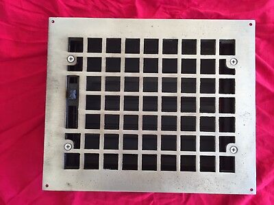 Antique Heating Register - Satin Nickel
