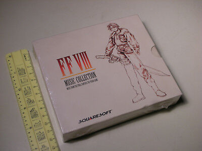 Final Fantasy VIII Music Collection: Music From Video Game (Sealed, 4 Discs Set)