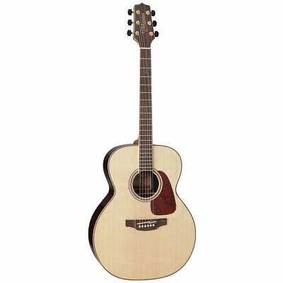 New Takamine GN93-NAT NEX Acoustic Guitar w/ Solid Top & Quilt Maple Center Back