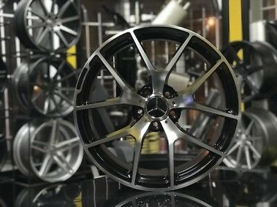 Mercedes sls AMG Replica wheels 19x8.5 Front 19x9.5 Rear New set of (4)Staggered