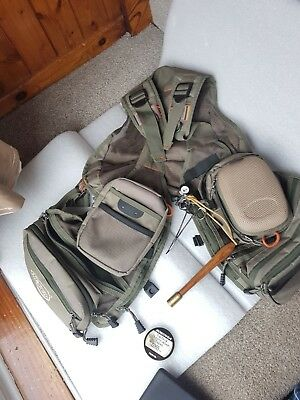 Airflo Outlander Mesh Fly Fishing Vest One Size Fits All With Accessories &flies