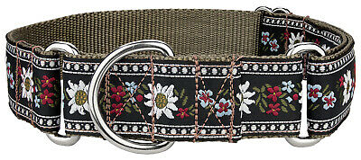 Country Brook Design® Queen of the Alps Woven Ribbon Martingale Collar