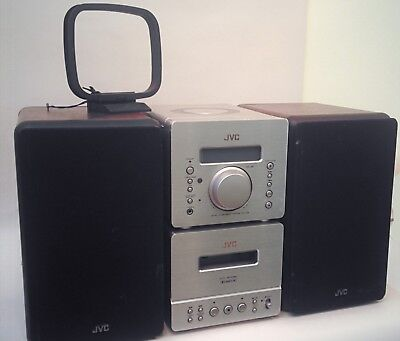 JVC Stereo UX-D88 Micro Component System, Used, Good condition