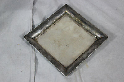 Esquire Japan 950 Sterling Silver Square Tray - 82.8g (AS/P2/1)