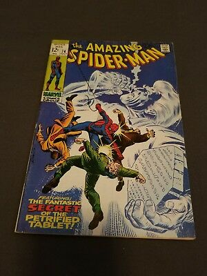 The Amazing Spider-Man #74 (Jul 1969, Marvel) 1st Appearance of Silvermane WOW !