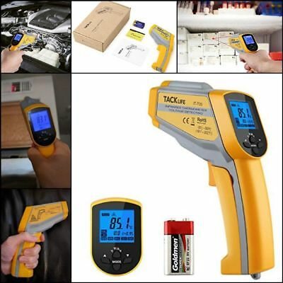 Tacklife Non-contact Digital Laser Infrared IR Thermometer Temperature LCD Gun !