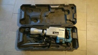 New Makita HM1304B 35 lb. Demolition Hammer Includes Carrying Case with Wheels