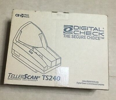 Genuine Digital Check The Secure Choice Teller Scan TS240  New Sealed