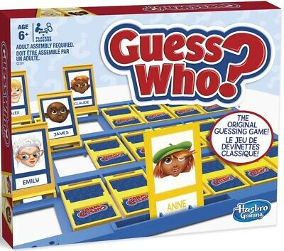 Official Guess Who? Hasbro Game