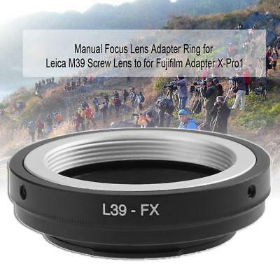 Lens Adapter Ring L39-FX for Leica M39 Screw Lens to for Fujifilm Adapter X-Pro1