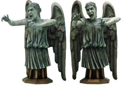Doctor Who Masterpiece Collection WEEPING ANGEL Maxi Bust MIB Titan 2009 Scarce
