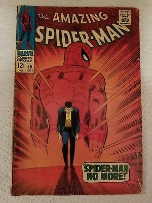The Amazing Spiderman #50 1st apperance of Kingpin