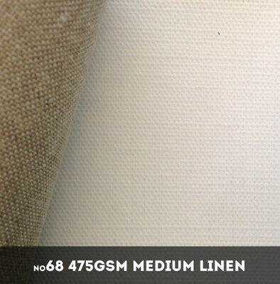 NEW Belle Arti #68U - Medium 475gsm Triple Primed Linen - 216cm x 10m