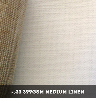 NEW Belle Arti #33U - Medium 399gsm Triple Primed Linen - 216cm x 10m