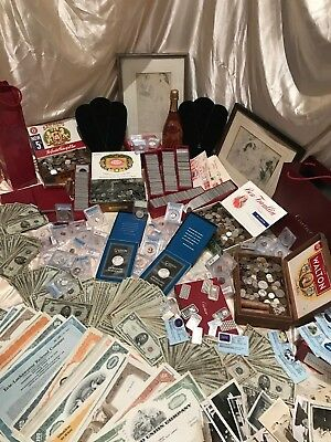 $ Old United States .999 Gold Silver Bullion Collection Estate Lot Sale Coins $