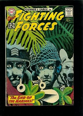 Our Fighting Forces 71 VG/FN 5.0