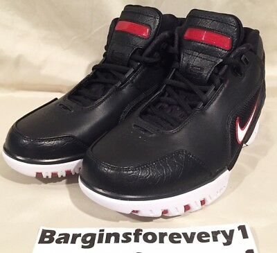 89e75316a069 Nike Air Zoom Generation QS - Size 8 - Black White-Varsity Crimson -
