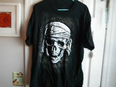 Pirates Of The Caribbean Shirt Mens Large  New From Disney