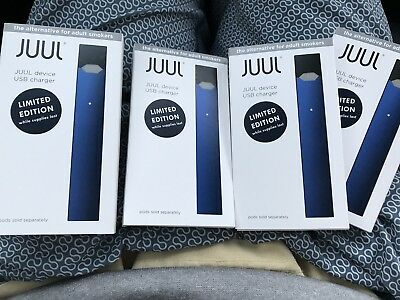 JUUL Battery Navy Blue LIMITED - Quick & Secure Shipping