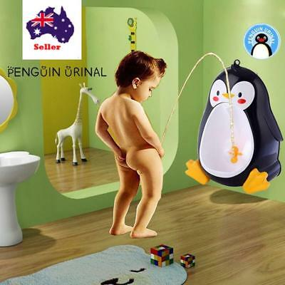 Baby Boy Infant Toddler Potty Training Children Stand  Suction Cups Wall-Mounted